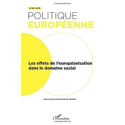Les effets de l'européanisation dans le domaine social