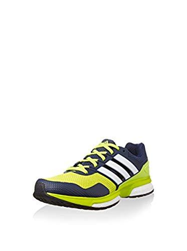 Adidas Herren Response 2 Laufschuhe , mehrfarbig - Marineblau / Gelb / Weiß - Größe: 44