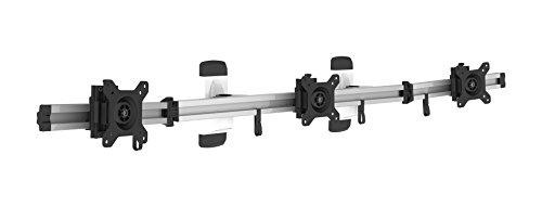 HFTEK 3-Fach Monitorarm - Halter - Bildschirm - Wandhalterung für 3 Monitore von 15-27 Zoll mit VESA 75/100 (MP230W)