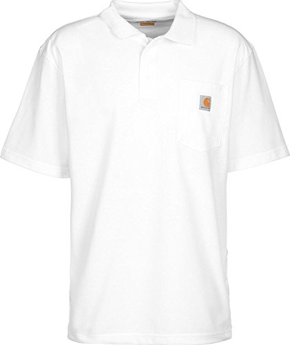 Carhartt Pocket (Carhartt K570 Work Pocket Polo XL White)