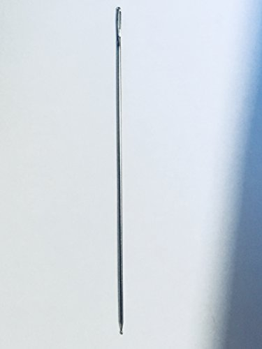 Webernadel mit Kugelspitze Nadeln 11 cm 1 Stück -Hergestellt in Deutschland- Webnadel