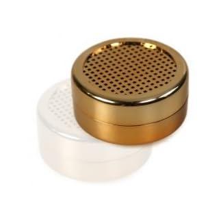Lifestyle-Ambiente Polymer - Humidorbefeuchter rund 5,6x2,5cm gold inkl. Lifestyle-Ambiente Tastingbogen und Magnethalterung