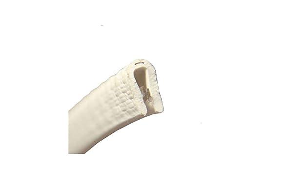 eutras Paraspigoli 1143/ks1053/morsetto profilo keder/ /Campo Di Serraggio 1/ 5/m Bianco /2/mm