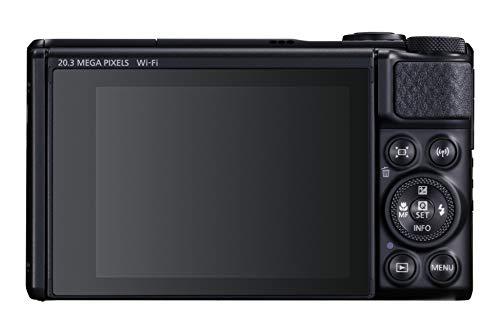Canon Italia PowerShot SX740 Fotocamera Digitale Compatta, Nero