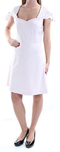 kensie 79 Womens New 1206 Pink Scoop Neck Cap Sleeve A-Line Dress XS B+B -