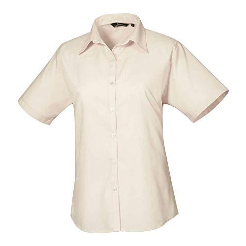 Premier Womens Short Sleeve Poplin Blouse