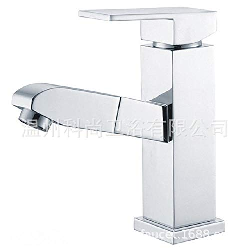 ROTOOY Badarmaturen Wasserhähne Wasserhahn Becken Wasserhahn Am Waschtischhahn ziehen Waschtischhahn