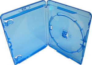 Blu-Ray 14mm Storage Cases for Single (1) Disc With Logo (Pack of 50) Branded Dragon Trading®