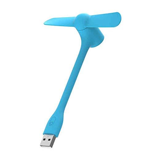 BLWX - Tragbarer USB-Lüfter 3-Datei steuerbar Mini-Office-Desktop stummschalten Kleiner Fan Studentenwohnheim tragbare Handheld-Aufladung Mobile Stromversorgung Computer Handheld-Lüfter