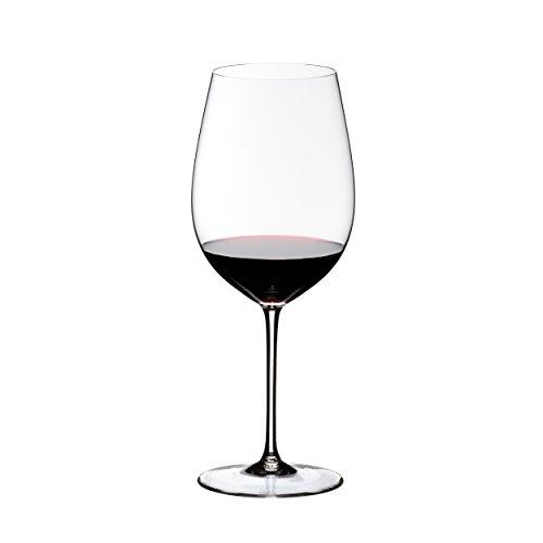 RIEDEL Rotweinglas, Für Rotweine wie Bordeaux Grand Cru, 860 ml, Kristallglas, Sommeliers, 4400/00 (Riedel Wein Gläser Bordeaux)