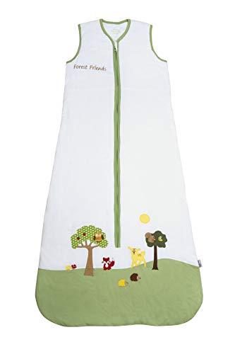 Saco de dormir de verano para bebé Slumbersac 1.0 Tog Amigos del Bosque 6-18 meses/90cm
