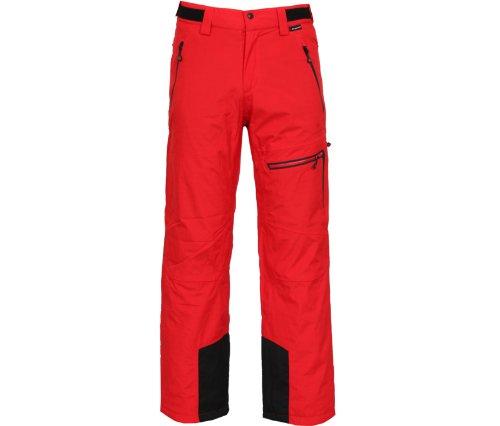 Bergson Herren Skihose Escape, Chinese Red [104], 48, YF13-700603A