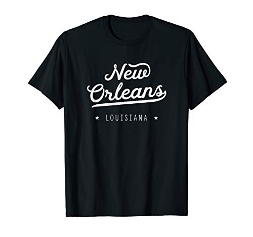 New Orleans Retro Home Louisiana Geschenk-Neuheit T-Shirt