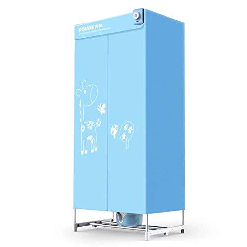 YHz@Secadora EléCtrica PortáTil, Secadora MultifuncióN De Bajo Consumo, Soporte De AleacióN De Aluminio - CalefaccióN PTC -900w - Azul