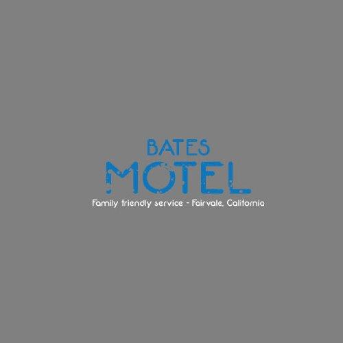 Bates Motel - Herren T-Shirt Dunkelgrün