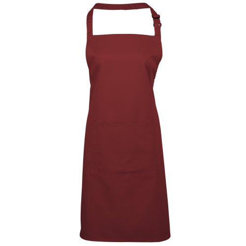 Premier Workwear Colours Bib Apron with Pocket, Top Donna Blu reale