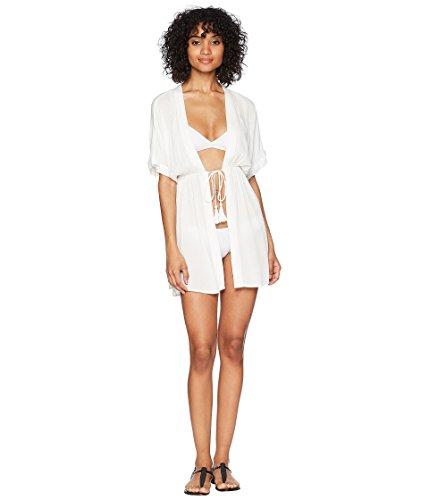 Lauren Ralph Lauren Damen Kleid aus Viskose, knitterfarben - Weiß - X-Large (Ralph Lauren Kleider Für Frauen)