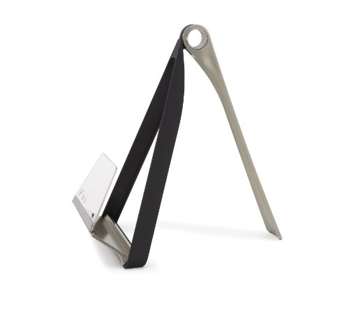Umbra 330100-047 Pelica Cookbook Holder, black / nickel