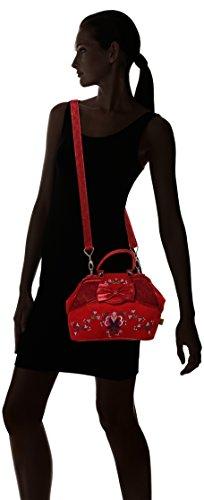 Irregular Choice Damen Field of Dreams Bag Shopper, Rot (Red), 13x20x30 centimeters - 6
