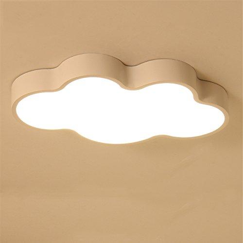Malovecf Wolken Lampe Moderne Minimalistische Led Deckenleuchte Eisen Wolken Zimmer Lampe Schlafzimmer Wohnzimmer Kinderzimmer, 630 * 380 * 80MM, (A, Dimmbar)