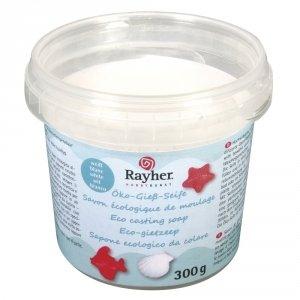 Rayher Savon ecologique de Moulage Blanc 300g