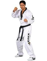 KWON - Kimono de artes marciales, tamaño 150 UK, color blanco
