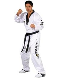 KWON - Kimono de artes marciales, tamaño 170 UK, color blanco