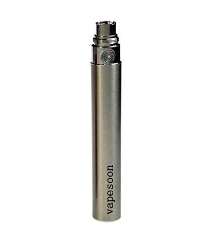 Autentico svapo ego capacità batteria 1100mah ego-t penna shisha batteria per sigaretta elettronica filettate ce4 e-sigarette|510 e-shisha narghilè e-sigaretta-acciaio inossidabile