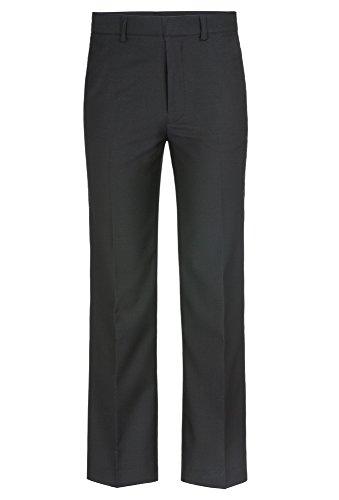 GATO NEGRO Schwarze Anzug-Hose - Gr. 128 - 176 Kinder,Jungen,Hose,lang,festlich,Fest,schick schwarz,134