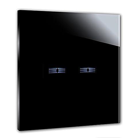 ROHDE+ROHDE® 2-fach Touch Lichtschalter 230V. Mit 5 Jahren Garantie*. Made in Germany /Italy. Ersetzt traditionelle