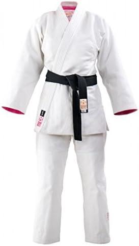 Judogi meiyo Donna Bianco rosa, Taglia Taglia Taglia 150 B078Y9KT2J Parent | diversità imballaggio  | lusso  | Di Qualità Fine  | comfort  693e27