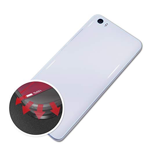 atFolix Schutzfolie passend für Xiaomi Mi5 / Mi5 Pro Back Folie, entspiegelnde & Flexible FX Bildschirmschutzfolie (3X)