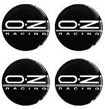 Unbekannt oz Racing 4 Stück 60mm Aufkleber Emblem für Felgen Nabendeckel Radkappen