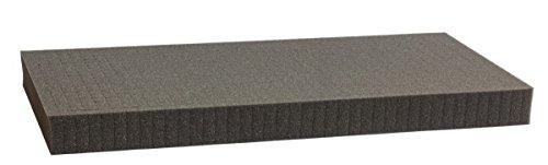 1000 mm x 500 mm x 50 mm Rasterschaumstoff Würfelschaum - Rasterweite 15 mm