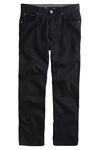 JP 1880 Herren große Größen bis 70, Hose, Komfortbund, Regular Fit, Stretch, Baumwolle, 5-Pocket-Form schwarz 66 702613 10-66