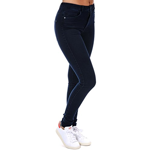 ONLY Damen ROYAL HIGH SKINNY JEANS PIM101 NOOS Jeanshose, Blau (Dark Blue Denim), 42/L32 (Herstellergröße: XL)