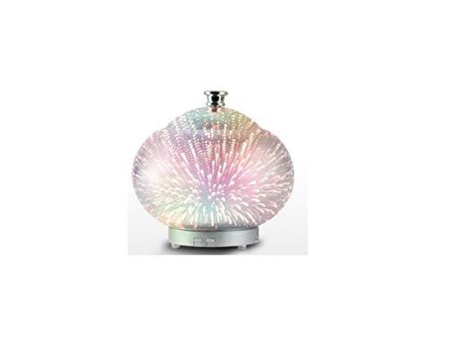 HNXCJS Humidificador Forma Star Style Cool Mist Humidificador Que Cambia De Color 100Ml 12W 110-240V Luz 3D Difusor De Aromaterapia Ultra Silencioso