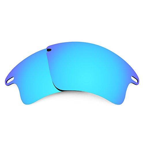 Revant Ersatzlinsen für Oakley Fast Jacket XL Eisblau MirrorShield®