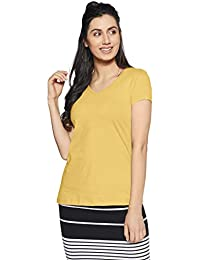 8c643c21af0 Yellows Women s T-Shirts  Buy Yellows Women s T-Shirts online at ...