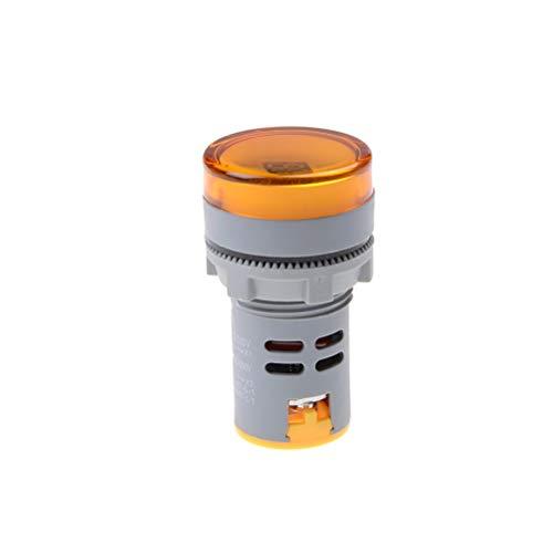 Voltage Meter - 22mm Voltmeter Ad16 22dsv Ac 60 500v Volt Gauge Voltage Meter Indicator Lamp - Meter Range Display Bass Cable Pack Leads Blue Subwoofer Socket Green Audio Guage Marine Poi