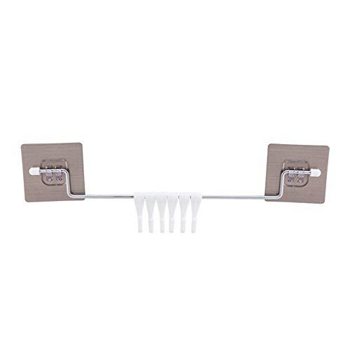 Preisvergleich Produktbild TOWAKM, Top Qualität Super Power Vacuum Sauger Standplatz Haken Küche Badezimmer Aufhänger Weiß (B)