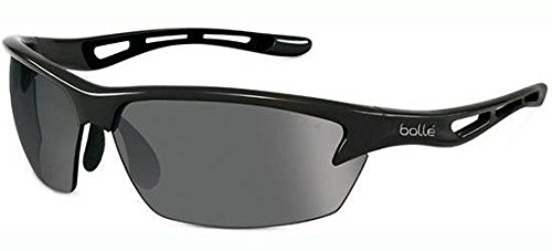 Bollé - Bollé BOLT, Sportbrille, Nylon, Herrenbrillen, SHINY BLACK/PC POLARIZED TNS OLEO AF(11867), 80/16/129