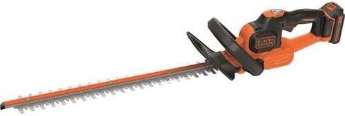 Black+Decker Akku Heckenschere GTC18452PC mit Antiblockierfunktion und hohem Bedienkomfort – 18mm Schnittstärke – 18V – 45cm Sägeblatt-Länge – 2,42kg