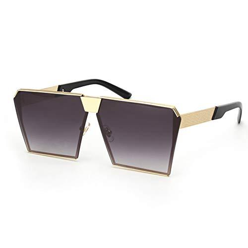 SYQA Frauen Sonnenbrille Schild uv400 gradienten Vintage Brillen Rahmen,C3