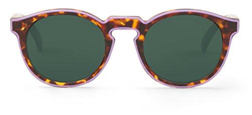 Mr. Boho | Jordaan | Lila / Cheetah Tortoise   -   Sonnenbrillen fur Damen und Herren