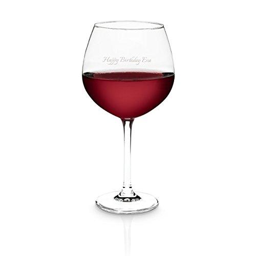 Geschenkidee.de Schott Zwiesel Weinglas mit Gravur- personalisierbarer Weinkelch mit Wunschtext für...