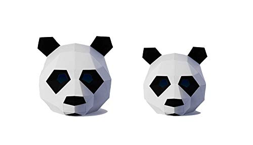 ZYWX DIY Panda Wig Tier Papier Schimmel DIY -