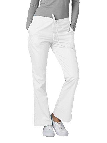 Medizinische Schrubb-hosen - Damen-Krankenhaus-Uniformhose 507 Farbe: WHT   Größe: ()