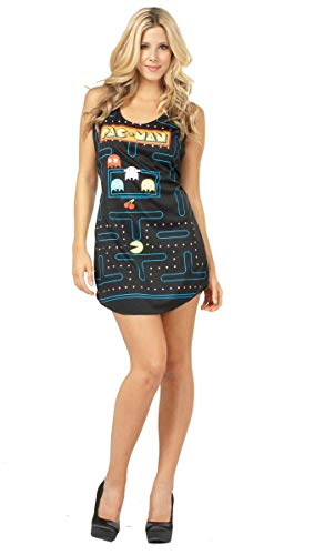 (Tank Dress Adult Costume Halloween size of the game screen of Pac-Man Video Game Screen Tank Dress Adult Costume Pac-Man: One-Size (Standard) (japan import))