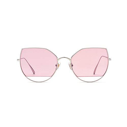 Doxtecret Weibliche Katzenauge Sonnenbrille Modische Sonnenbrille Ultraleichtes Material HD polarisierte Gläser Verstellbarer Rahmen Geeignet für Frauen Niemals Enden